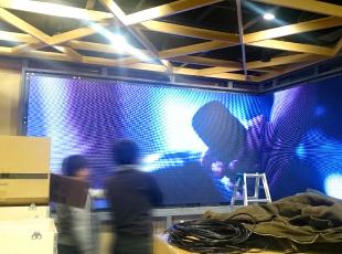 LED VISION 施工 画像